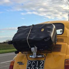 Crash Baggage, Company car Fiat 500