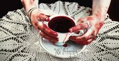 Blood in a teacup