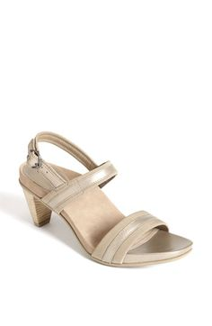 f5612f154db1 Aetrex Kate Sandal available at  Nordstrom Bridesmaid Shoes