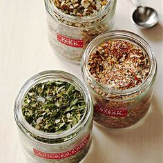 DIY Gift Idea: Make Dad a homemade gift for Father's Day with this easy trio of rubs for chicken, steak, and pork.