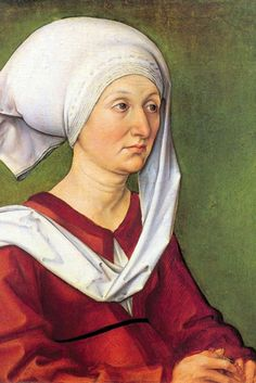 Portrait of Barbara Dürer, by Albrecht Durer