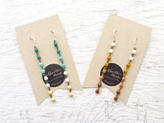 Jewelry Gift Set // BFF Gift Set // Earrings // Turquoise Earrings // Gifts for Teens // Gifts For Sisters // Friends Gift by bellwetherblonde on Etsy