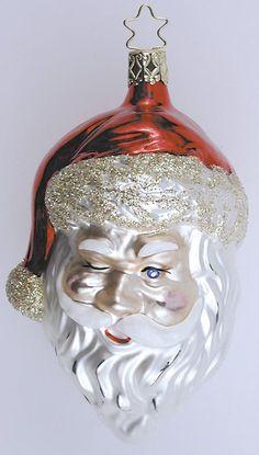 Inge Glas 2001#Christbaumschmuck#aus dem Hause Inge Glas.Weihnachtsbaumschmuck made in Germany mundgeblasen und von Hand bemalt bei www.gartenschaetwww.gartenschaetze-online.de