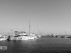 Photo I took this afternoon at the Limassol Marina in Cyprus