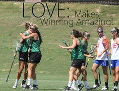 One of the best signs of teammate satisfaction is found not in winning, but in the love and feeling that athletes have for their teammates and coaches. LOVE makes teams more successful and builds upon positive energy. LOVE is the ultimate form of communal optimism; LOVE strengthens our BELIEF in each other and ourselves; LOVE protects and accepts risks without consequence. Teams that are fueled with LOVE have the best chance to succeed long term.