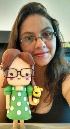 Eu e minha mascote