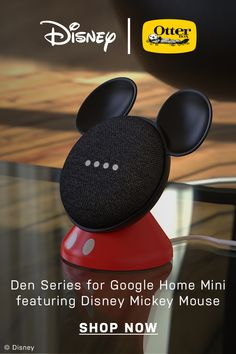 Brighten up the playroom & add to your growing Disney collection, with  OtterBox Den Series for Google Home Mini featuring Disney Mickey Mouse. Made for easy interaction with your Google Home Mini, it's easy to install and works like you'd expect. The non-slip base keeps it right where you place it, plus it's designed to meet child safety standards and backed by OtterBox limited lifetime warranty. Den Series featuring Disney Mickey Mouse is guaranteed to bring a dash of Disney into your…