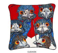 Chair Candy & PjPainting cushion