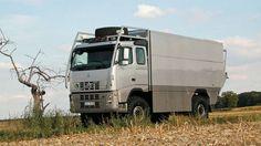 Assim, o Unicat parece um caminhão normal.
