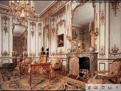 Baroque interior design of a living room. Classical interior design for a palace. Interior Design Companies, Modern Interior Design, Interior Design Living Room, Interior Decorating, Classic Interior, Decorating Ideas, Palace Interior, Luxury Homes Interior, Classic Architecture