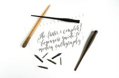 Faux calligraphy tutorial calligraphy tutorial calligraphy and
