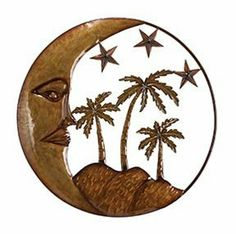 Benzara 63841 Island Sun Stars N Palms Metal Wall Art Decor Sculpture by Benzara. $26.37. Manufactured to the Highest Quality Available.. Design is stylish and innovative. Satisfaction Ensured.. Great Gift Idea.. Benzaras exclusive and trendy home decor accents nautical decor accessories and furniture products from India has gained itself a reputation due to the high quality and detail at affordable prices. The collection includes a vast selection of metal wall decor ...