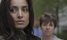Deeyah Khan with Caroline Goode - the key Met officer in the case. Photograph: theguardian.com