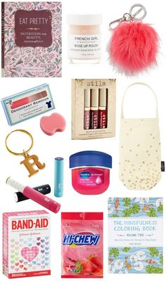 Sleep Over Party Bag Loot Stocking Filler For Girls Mini Nail Art Gift Set