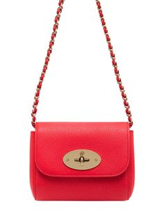 c2fb2e194 Shop for Mini Lily Grained Leather Shoulder Bag by Mulberry at ShopStyle.
