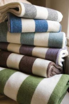Wool blankets are a classic bedding accessory that should be in everyone's home. Besides being incredibly warm, they're dirt resistant, flame resistant, very durable and can last years upon years. Forget about scratchy army-style wool blankets (which I actually keep in my car, just in case), here are some great, graphic and stylish wool blankets to keep you warm.