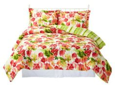 Caribbean Joe St. Kitts 3pc. King Comforter Set multi King by Caribbean Joe. $97.99. Imported. Capture the feeling of paradise all year long with tropical bedding by Caribbean Joe. This comfortable 3−pc. king size bedding set includesa vibrant floral print comforter measuring 110'' x 96'' and two coordinating pillow shams measuring 21'' x 27''. 100% Polyester.. Save 30% Off!