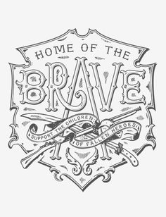 typeverything:  Home of the Brave