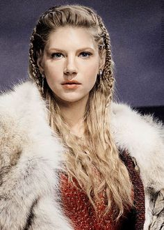 Vikings (series 2013 - ) Starring: Katheryn Winnick as Lagertha. Shield maiden. Ragnar's first wife. Her second husband is Earl Sigvard of Scandinavia.  Lagertha eventually becomes an Earl in her own right, Earl Ingstad.