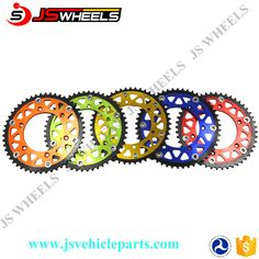 Motorcycle Alloy Steel Chain Sprocket For RMZ 250 CRF 250 KTM EXC SXF 350 450