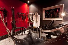 The Red Room at Salon Kitty's:: BDSM Dungeon in Sydney: http://www.salonkittys.com/