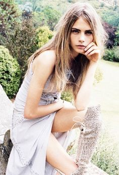 Cara Delevingne photographed by Quentin de Briey for Vogue Spain, January 2013