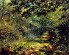 Pierre-Auguste Renoir (1841-1919): Forest Path. 1875
