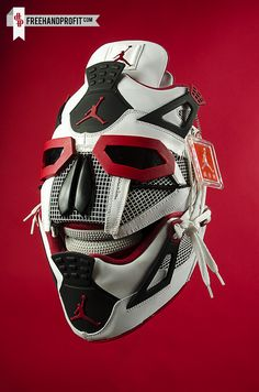 Air Jordan IV Fire Red Gas Mask                                                                                    Ⓙ_⍣∙₩ѧŁҝ!₦ǥ∙⍣
