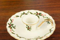 Vintage 70s-80s Lefton China Christmas by SycamoreVintage on Etsy