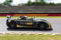 Lotus 211 on track