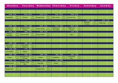 September timetable Remember to Book onto your class :) Friday Saturday Sunday, Circuit, Periodic Table, September, Gym, Books, Periodic Table Chart, Libros, Periotic Table