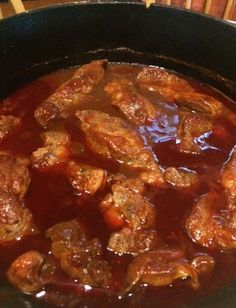 Country Style Pork Ribs in the Dutch Oven (or CrockPot) ! Yeah Baby!! Not only were they amazing....someone else made them!! Kevin has be...