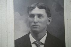 Vintage Photograph of Young Man from Illinois by Castawayacres