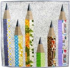 Pencil Me In Mini Quilt Pattern Download
