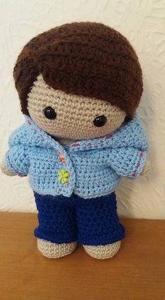 Ravelry: Weebee Doll - Hoodie pattern by Laura Tegg