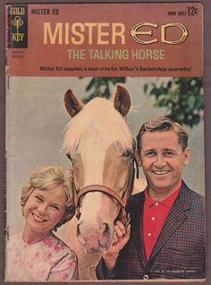 1962 Gold Key MISTER ED #1 Comic Book TV SHOW Wilbur's BarberShop Quartette