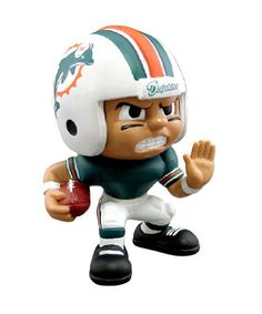 fd94d901d5a Miami Dolphins Running Back Lil  Teammate Figurine by Party Animal Home  Team