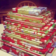 Wrap 25 books and read a different one every day leading up to Christmas.