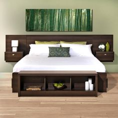 Valhalla Designer Series Floating King Headboard - Free Shipping Today - Overstock.com - 15535848