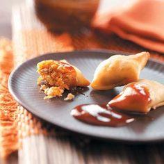 Crispy Chicken Wontons Recipe from Taste of Home