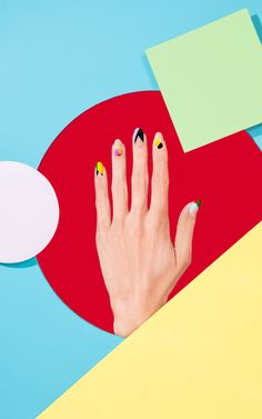 """<p>Stephanie Gonot is a Los Angeles-based still life photographer with a colorful, humorous and edible style. This series of photos are images she shot for a """"Rad Nails"""" wraps and new pack"""