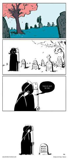 Mary Death :: Gravestone | Tapastic Comics - image 1