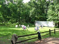 Archery Range at Camp Eberhart