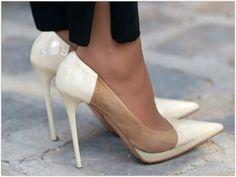 Art Symphony: White Heels