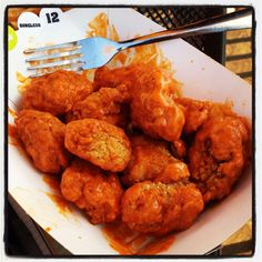 Buffalo Wild Wings: Boneless Buffalo Wings     (how am i supposed to breathe with no air)