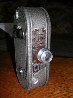 Keystone 1934 8mm Model K-8 Movie Camera Nice!! #Keystone