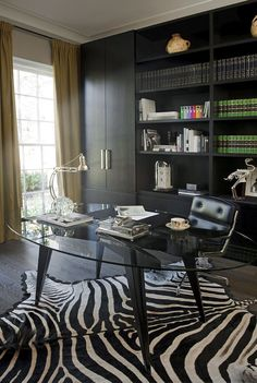 Kate Hume | Interiors - Project: Manor England | Home office