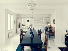 An old schoolhouse is now a light and modern family home.