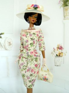 OOAK Spring Fashion for Silkstone/Vintage Barbie Dolls by Joby Originals
