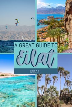 With all the things to do in Eilat Israel, you're bound to entertain yourself for days. Read this post to discover the best attractions in Eilat and get plenty of tips on how to plan your trip | Eilat Israel travel | Eilat Israel beach #israel #traveltips via @clautavani